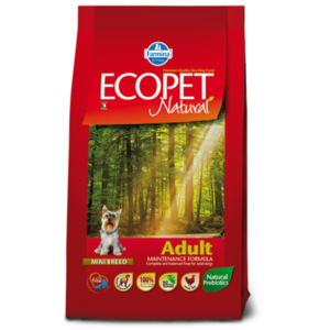 ECOPET NATURAL ADULT MINI 12 KG BY FARMINA
