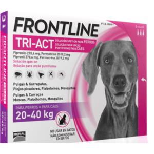 FRONTLINE ANTIPARASSITARIO CANE  TRIACT 20-40 KG CONF. 3 PIPETTE