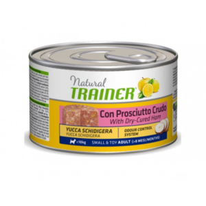 UMIDO TRAINER SMALL E TOY ADULT 150 GR CON PROSCIUTTO CRUDO