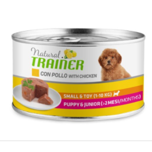 UMIDO TRAINER PUPPY E JUNIOR CON POLLO 150 GR