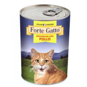 FORTE GATTO BOCCONCINI CON POLLO 405 GR