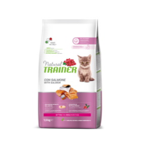 TRAINER KITTEN GATTO AL SALMONE 1,5 KG