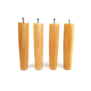 Gambe in legno CONICHE