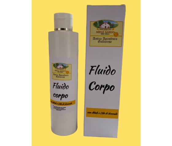 Fluido corpo miele e olio di avocado