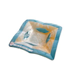 Bomboniera d'appoggio in vetro colorato da 6mm