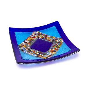 Oggettistica d'arredo in vetro fusione