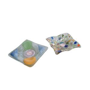 Bomboniere d'appoggio in vetro colorato da 5mm