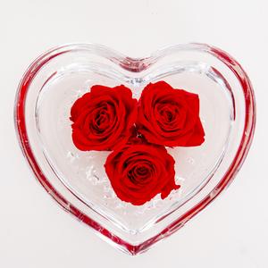 Rose stabilizzate cuore