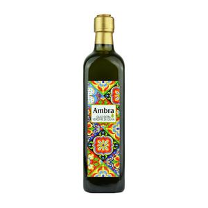 Bottiglia tipo marasca da lt.1 di olio extravergine di oliva