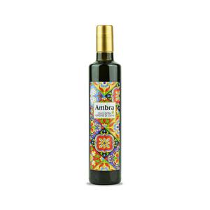 Bottiglia tipo dorica da lt.0,500 di olio extravergine di oliva