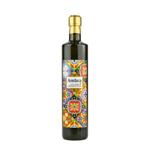 Bottiglia tipo dorica da lt.0,750 di olio extravergine di oliva