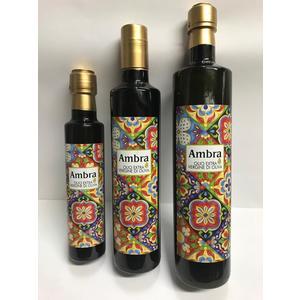N.3 bottiglie tipo dorica da lt.0,250-0,500-0,750 di olio