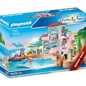 Playmobil Family Fun Bar-Gelateria del Porto