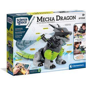 Clementoni Scienza e Gioco Mecha Dragon Il Tuo Drago Meccanico