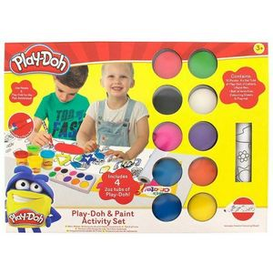 hasbro Play-Doh Activity Set Pasta da Modellare e Pittura