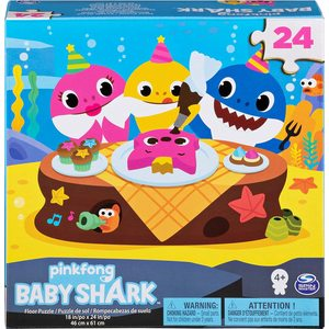 Baby Shark Puzzle Gigante 24 pezzi