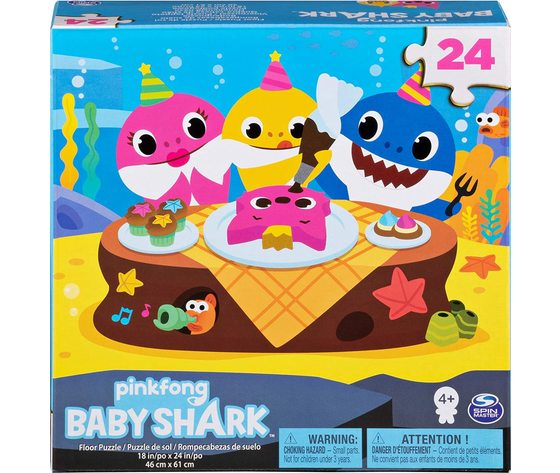 Baby shark 24 pz