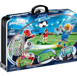 Playmobil Sports & Action 70244 - Campo Da Calcio Grande, dai 5 anni
