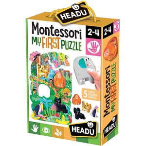 Headu Montessori First Puzzle La Giungla