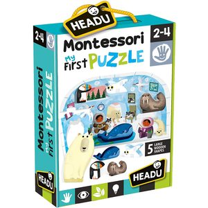 Headu Montessori First Puzzle Polo Nord
