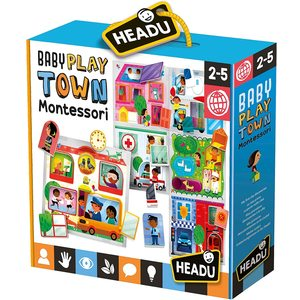 Headu Montessori Baby Play Town