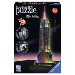 Ravensburger Empire State Building con Led Puzzle 3D Night edition