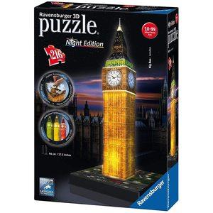 Ravensburger Big Ben con Led Puzzle 3D Night Edition