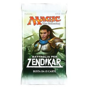 Magic Battle For Zendikar Espansioni 1 Bustina da 15 Carte in Inglese