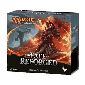 Magic Fate Reforged include 9 boosters in Inglese