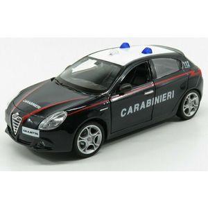 Burago Alfa Romeo Giulietta Carabinieri scala 1:24