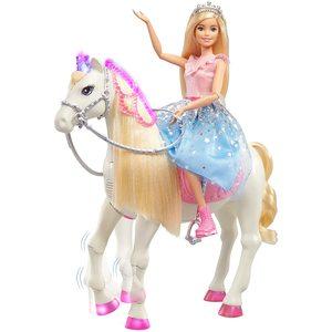 Barbie Principessa con Cavallo con Movimento