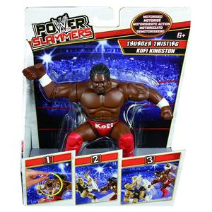 WWe Power Slammers Personaggio Kofi Kingston