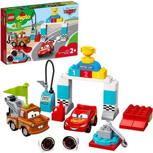 Lego Duplo Cars Saetta Mc Queen Garage 10924