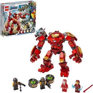Lego Avengers Iron Man Hulkbuster VS A.I.M. Agent 76164