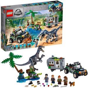 Lego Jurassic World Faccia a Faccia con il Baryonix 75935