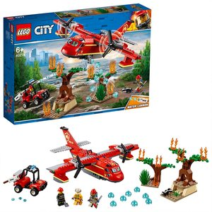Lego City Aereo Antincendio 60217