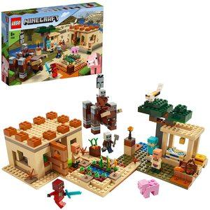 Lego Minecraft  Incursione della Bestia 21160