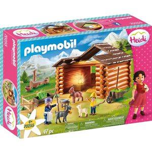 Playmobil Heidi Peter e le Caprette 70255