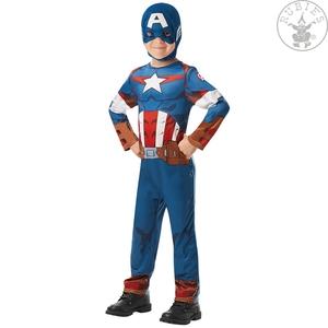 Rubies Avengers Capitan America Vestito di Carnevale 7-8 anni (128 cm)