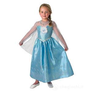 Rubies Frozen Elsa Deluxe Vestito di Carnevale 7-8 anni