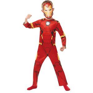 Rubies Avengers Iron Man Vestito di Carnevale 7-8 anni (128cm)