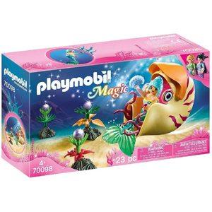 Playmobil Magic Sirena con Carrozza Nautilus 70098