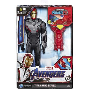 Avengers Titan Hero Series Iron Man Power FX
