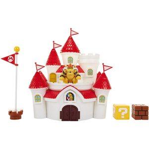 Nintendo Super Mario Kingdom Castle Play Set con Bowser incluso