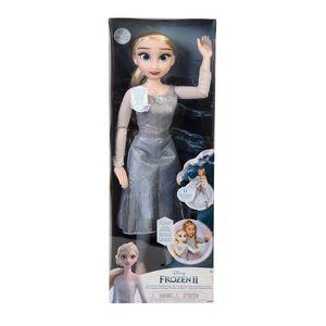Disney Frozen II Bambola Elsa 80 cm con Luci e Suoni