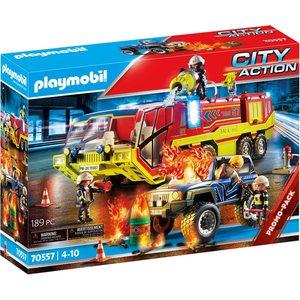 Playmobil Camion Vigili del Fuoco 70557