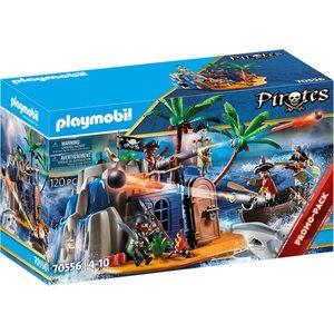 Playmobil Pirates L' Isola del tesoro 70556