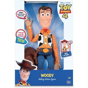 Disney Pixar Woody Toy Story, personaggio parlante, Multicolore