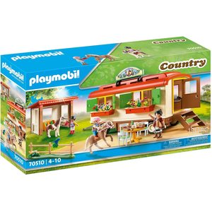 Playmobil Country Ranch dei Pony con Roulotte 70510