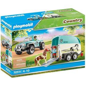 Playmobil Country Fuori Strada con Rimorchio 70511